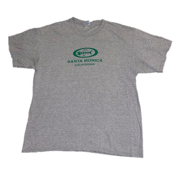 Gildan Tops - santa monica california t shirt
